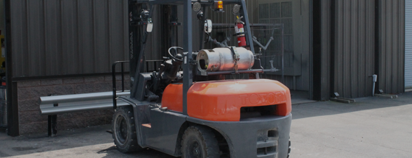 Forklift with Hanover Propane Gas
